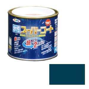 アサヒペン - 水性スーパーコート - 1/5L - オーシャンブルー
