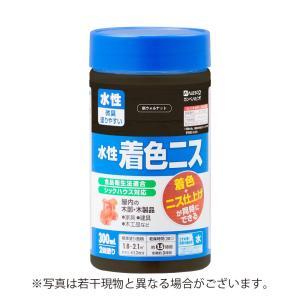 カンペハピオ - 水性着色ニス - 新ウォルナット - 300ML