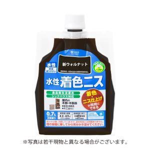 カンペハピオ - 水性着色ニス - 新ウォルナット - 0.7L