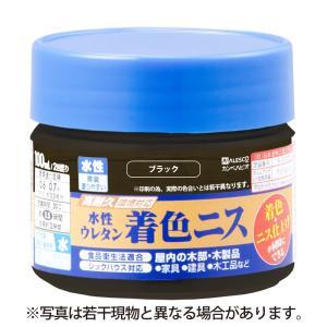 カンペハピオ - 水性ウレタン着色ニス - ブラック - 100ML