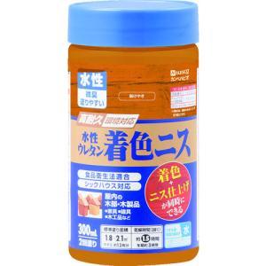 カンペハピオ - 水性ウレタン着色ニス - 新けやき - 300ML