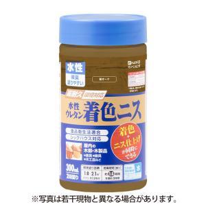 カンペハピオ - 水性ウレタン着色ニス - 新オーク - 300ML