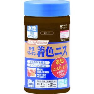 カンペハピオ - 水性ウレタン着色ニス - 新チーク - 300ML