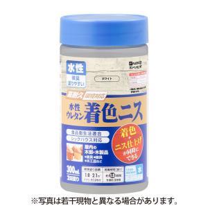 カンペハピオ - 水性ウレタン着色ニス - ホワイト - 300ML