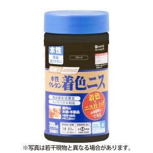 カンペハピオ - 水性ウレタン着色ニス - ブラック - 300ML