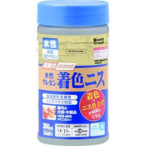カンペハピオ - 水性ウレタン着色ニス - 3分つやとうめい - 300ML