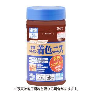 カンペハピオ - 水性ウレタン着色ニス - 新マホガニー - 300ML