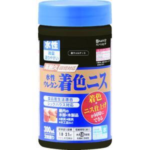 カンペハピオ - 水性ウレタン着色ニス - 新ウォルナット - 300ML