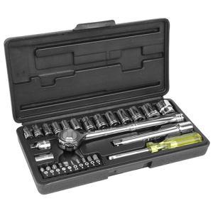 ソケットレンチセットESR-328差込角6.35・9.5mmのソケットレンチセット(28ピース入り)...