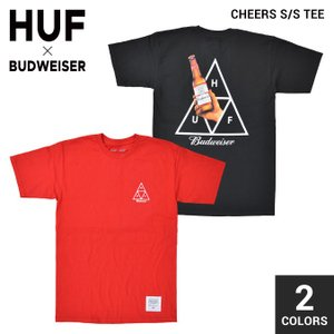 HUF × BUDWEISER (ハフ × バドワイザー) CHEERS S/S TEE Tシャツ ...