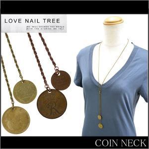 LOVE NAIL TREE ラブネイルツリー COIN NECK コインネックレス アクセサリー ネック【メール便発送で送料無料】【クリアランスセール】|buddy-stl