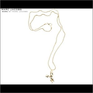 MARC BY MARC JACOBS/マーク バイ マーク ジェイコブス Crossed Fingers Necklace ネックレス アクセサリー|buddy-stl
