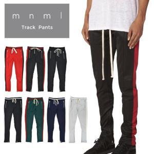 mnml ミニマル トラックパンツ TRACK PANTS ジャージ ラインパンツ
