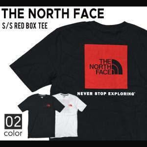 エントリーでポイント10倍/ THE NORTH FACE (ノースフェイス) MENS S/S RED BOX TEE Tシャツ 半袖 メンズ カットソー