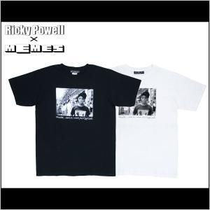 MEMES-NYC×Ricky Powell フォトT Tシャツ 半袖 リッキーパウエル【ウインターバーゲン】|buddy-stl