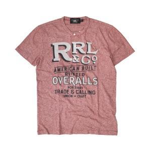 RRL by Ralph Lauren ラルフローレン ダブルアールエル Short-Sleeved Graphic Henley ヘンリーネック Tシャツ|buddy-stl