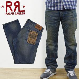 RRL by Ralph Lauren ラルフローレン ダブルアールエル SLIM-FIT INDIGO-DYED JEAN デニムパンツ ジーンズ|buddy-stl