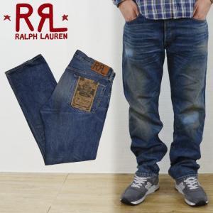 RRL by Ralph Lauren ラルフローレン ダブルアールエル LOW STRAIGHT NORTH PLAIN JEAN デニムパンツ ジーンズ|buddy-stl
