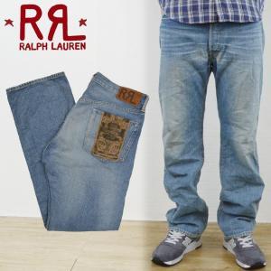 RRL by Ralph Lauren ラルフローレン ダブルアールエル STRAIGHT-FIT DYLAN JEAN デニムパンツ ジーンズ|buddy-stl