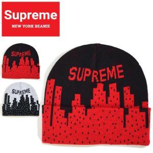 Supreme シュプリーム ビーニー NEW YORK BEANIE ニットキャップ ニット帽 帽...