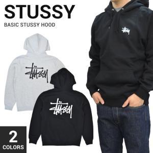 STUSSY (ステューシー) BASIC STUSSY HOOD プルオーバー パーカー フリース...