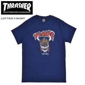 THRASHER スラッシャー Tシャツ LOTTIES T-SHIRT TEE カットソー 半袖 ...