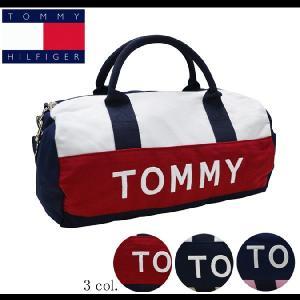 TOMMY HILFIGER DUFFLE BAG ミニボストンバッグ アメリカ直営店買付の100%...