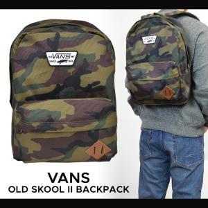 VANS (バンズ) OLD SKOOL 2 BACKPACK デイパック 鞄 リュック バックパック 男女兼用 メンズ レディース ヴァンズ