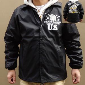 コーチジャケット BUDDY オリジナル KEEP ON TRUCKIN' ブラッ ク ウィンドブレーカー コンボイ トラッカー U.S.A. Kenworth Peterbilt 企業 SPRINGFORD|buddy-us-clothing