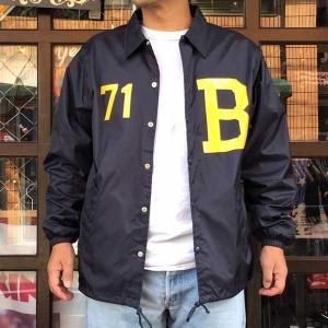 コーチジャケット BUDDY オリジナル B-71 ウィンドブレーカー 防寒 ナイロンジャケット メンズ レディース ユニセックス アメカジ SPRINGFORD|buddy-us-clothing