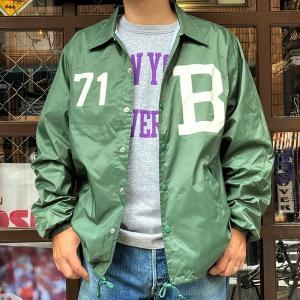 New Color! コーチジャケット BUDDY オリジナル B-71 ダークグリーン ウィンドブレーカー 防寒 ナイロンジャケット メンズ レディース ユニセックス アメカジ|buddy-us-clothing
