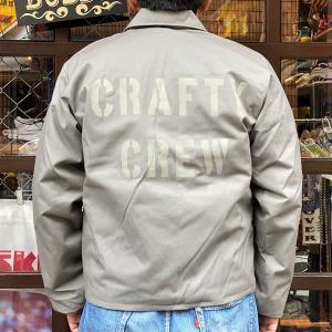 デッドストック プリズナー ワークジャケット ホワイトステンシル BUDDY オリジナル 防寒 メンズジャケット アメカジ|buddy-us-clothing