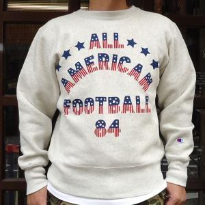 BUDDY別注Championリバースウィーブ クルースエット(ALL AMERICAN)|buddy-us-clothing