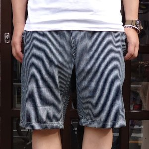 ヒッコリー ショートパンツ イージーパンツ 短パン アメカジ バディ BUDDY オリジナル SPRINGFORD buddy-us-clothing