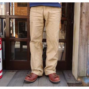 バディ SPRINGFORD BUDDY オリジナル ヘリンボーン ベイカーパンツ キャメル ワークパンツ 薄手 buddy-us-clothing