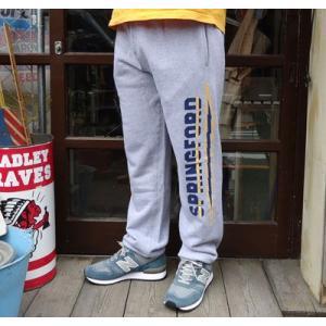 バディ オリジナル スエットパンツ グレー アメカジ トレーナー SPRINGFORD BUDDY 稲妻 ライトニング buddy-us-clothing