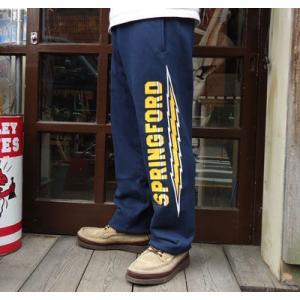 ★SPRINGFORD★BUDDY オリジナルスエットパンツ ネイビー buddy-us-clothing