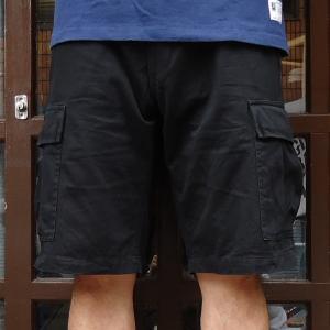 バディ SPRINGFORD BUDDY オリジナル 6ポケット ショートパンツ ブラック BLACK コットン 短パン buddy-us-clothing