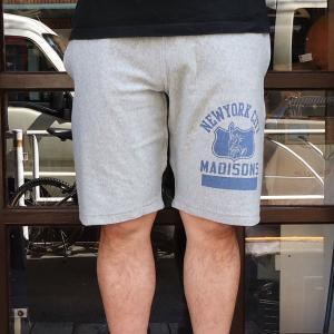 チャンピオン ショートパンツ スエットパンツ BUDDY別注 Championリバースウィーブショートパンツ MADISONS ハーフパンツ 短パン ショーツ|buddy-us-clothing