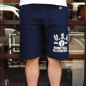 チャンピオン リバースウィーブショートパンツ スエットパンツ Champion U.S.A. BUDDY 別注 ハーフパンツ ショートパンツ 短パン ショーツ|buddy-us-clothing