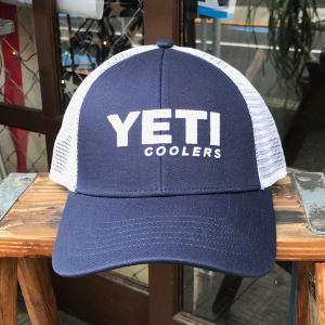 イエティ YETI Traditional Trucker Hat NAVY cap ユニセックス 帽子 キャップ Yeti Coolers ネイビー 紺 トラッカーキャップ イエティクーラーボックス|buddy-us-clothing