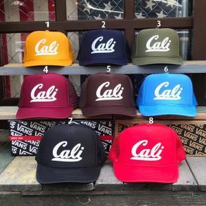メッシュキャップ BUDDY オリジナル Cali OTTO オットー メンズ レディース 帽子 アメカジ CALIFORNIA カリフォルニア アルファベット ネイビー ブラック レッド|buddy-us-clothing