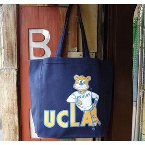 BUDDY 別注 UCLA(University of California, Los Angeles)トートバック ネイビー/カリフォルニア大学ロサンゼルス校|buddy-us-clothing