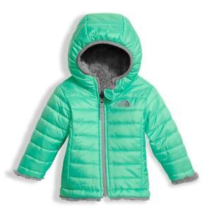 ノースフェイス THE NORTH FACE リバーシブル 6M-12M INFANT REVERSIBLE MOSSBUD SWIRL HOODIE ベビー フード付きジップ ジャケット 防寒 保温 ジャンパー 子供|buddy-us-clothing