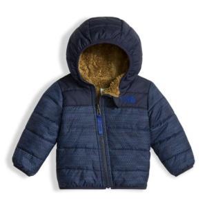 ノースフェイス THE NORTH FACE リバーシブル 6M-12M  INFANT REVERSIBLE MOUNT CHIMBORAZO HOODIE ベビー フード付きジップ ジャケット 防寒 保温 子供|buddy-us-clothing
