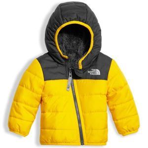 ノースフェイス THE NORTH FACE リバーシブル 3M-6M  INFANT REVERSIBLE MOUNT CHIMBORAZO HOODIE ベビー フード付きジップ ジャケット 防寒 保温 子供|buddy-us-clothing