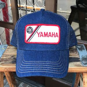 BUDDY オリジナル・ワッペン付きデニムキャップ YAMAHA  ヤマハ OTTO オットー デニムキャップ|buddy-us-clothing