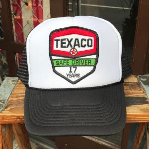 テキサコ TEXACO SAFE DRIVER 17 YEARS BUDDY オリジナル・ワッペン付きメッシュキャップ OTTO オットー ベースボールキャップ アメカジ|buddy-us-clothing