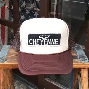シボレー ピックアップトラック Chevrolet CHEYENNE BUDDY オリジナル・ワッペン付きメッシュキャップ OTTO オットー ベースボールキャップ アメリカ TRUCKIN'|buddy-us-clothing