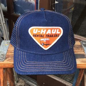 U-HAUL ユーホール BUDDY オリジナル ワッペン付きデニムキャップ OTTO オットー キャップ  アメリカ 企業物 RENTAL TRAILERS|buddy-us-clothing